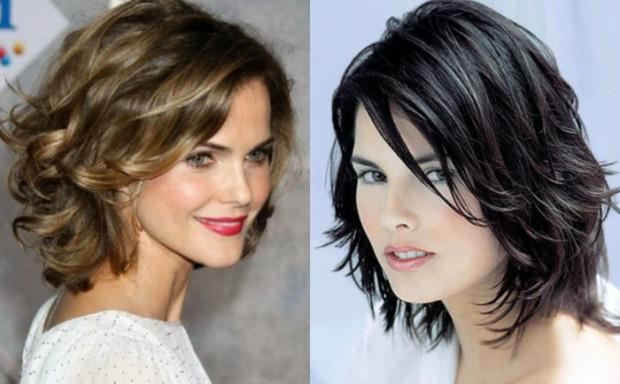 Стрижки на средние волосы 2018 женские за 40