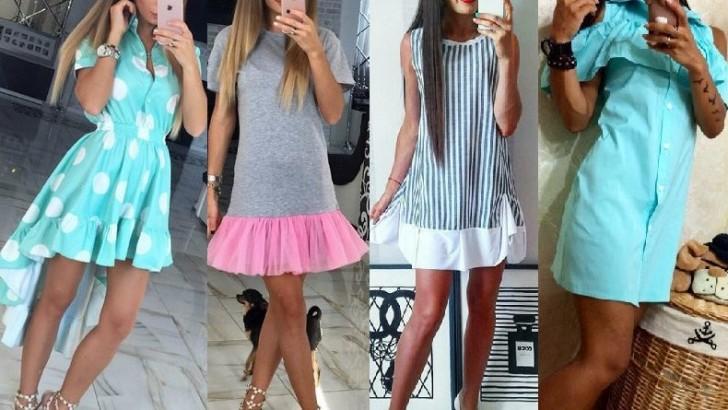 Стильные платья 2017 новинки лето