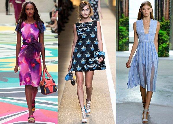Картинки модных летних платьев 2017