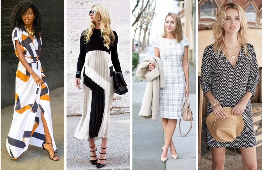 Модные повседневные платья 2017 новинки