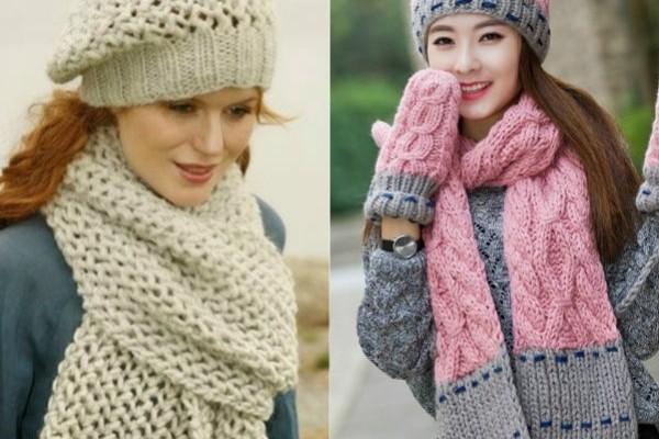 Крупные шарфы