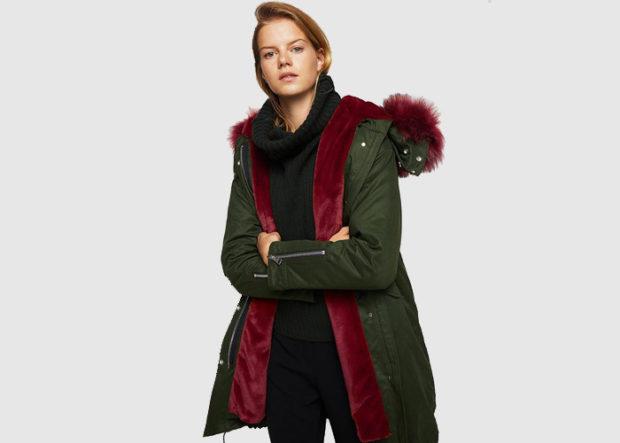 Стильные зимние куртки