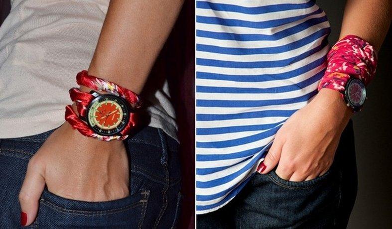 Как сделать ремешок для часов из ткани своими руками 54
