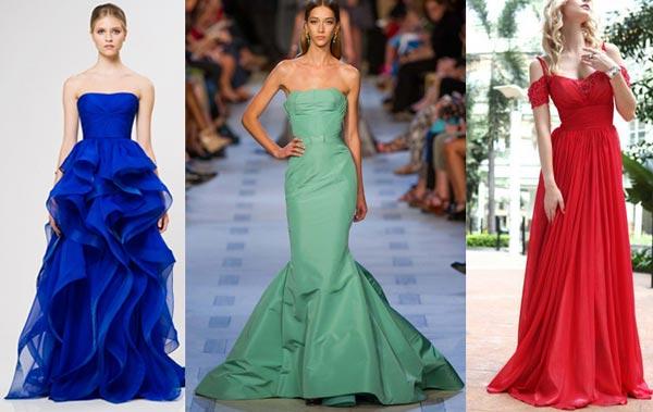 Яркие платья