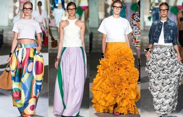 Стильные образы с платьями