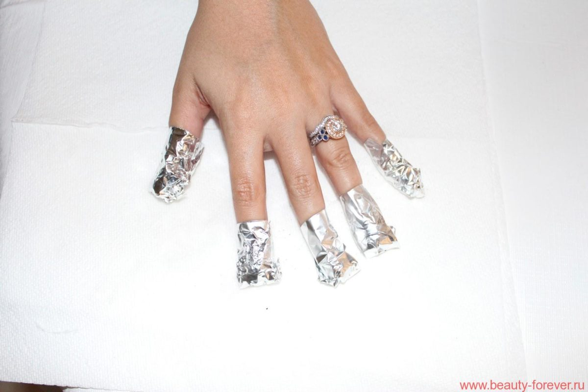 Фольга и ногти