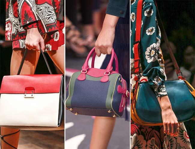 Модные расцветки сумок