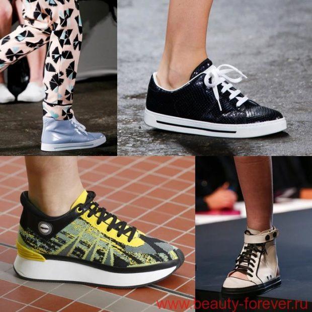 Стильная обувь в спортивном стиле