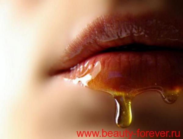 Бальзам с медом для губом