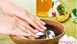 Рецепты для укрепления и роста ногтей.