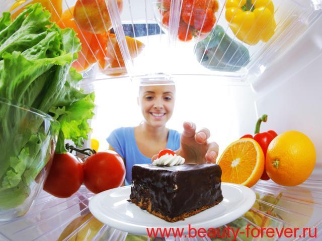 Простые правила по сокращению калорий