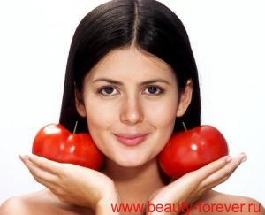 продукты защищают кожу от солнца.