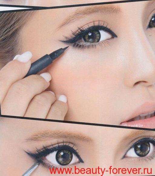 Правильный макияж глаз.