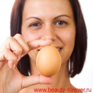Маски от морщин из яиц