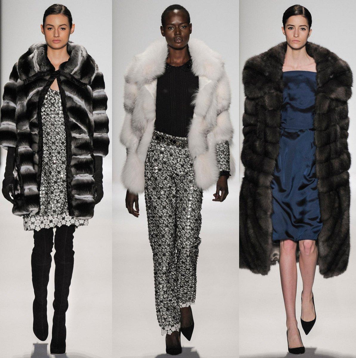 Модные меховые пальто рекомендации