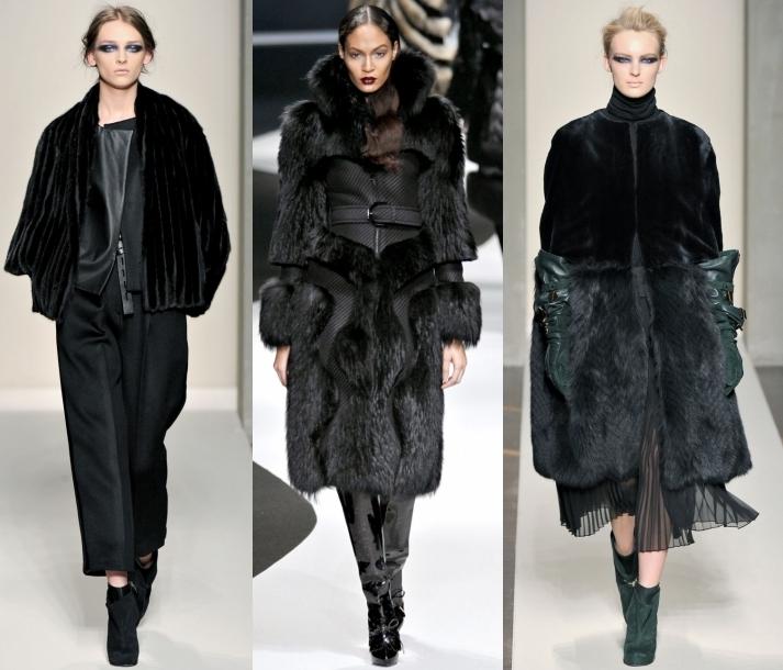 Смотреть Модные меховые пальто видео