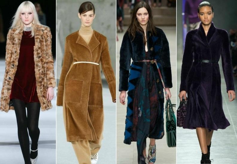 Модные меховые пальто в 2019 году