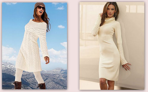 Классическая длина платьев