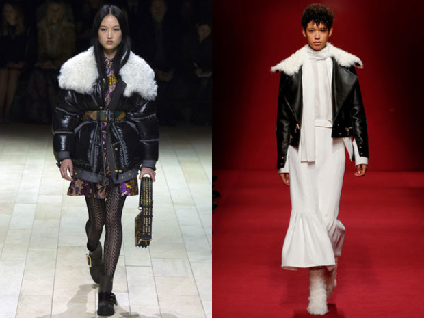 Женские куртки с воротником