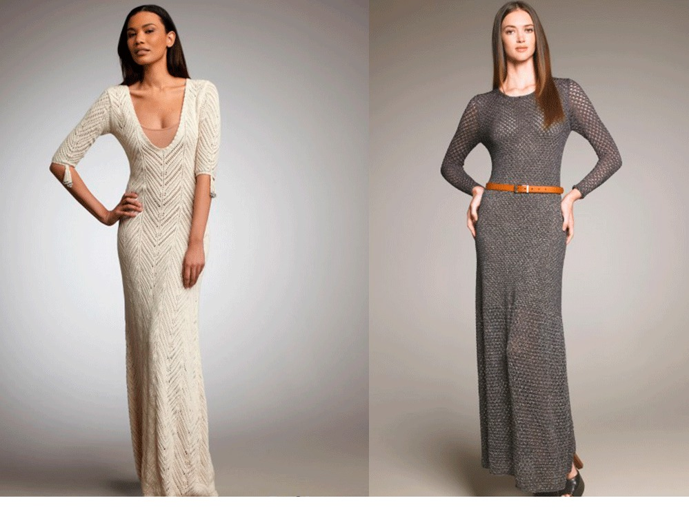 1fbd3e540f7 Вязаные платья - фото. Модные тенденции 2019