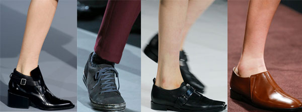 Оригинальная обувь в мужском стиле