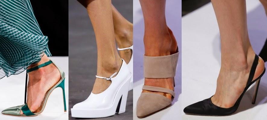 Обувь с острым носом