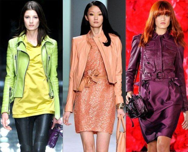 Модные цвета курток