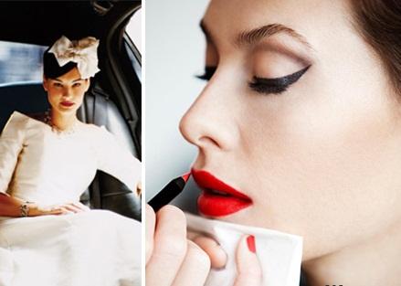 Свадебный макияж.