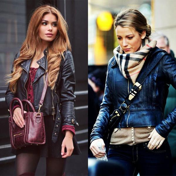 Кожаные куртки 2018