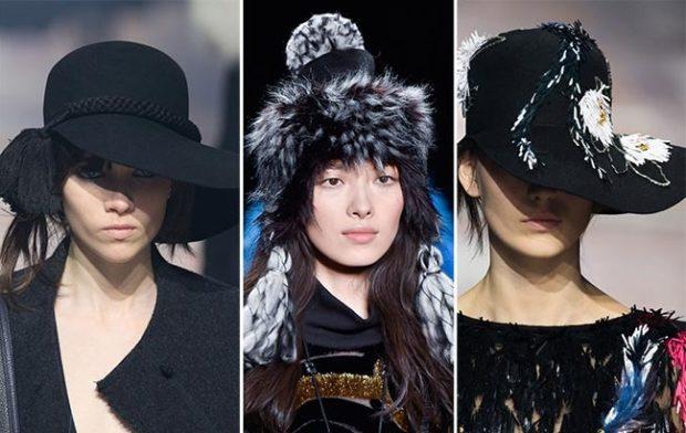 Модные шапки с бахромой