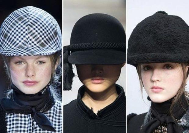 Модные кепи и шлемы