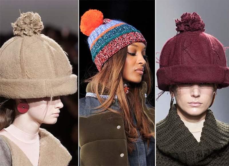 женские шапки осень зима 2019 150 фото