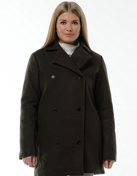 Модный фасон пальто