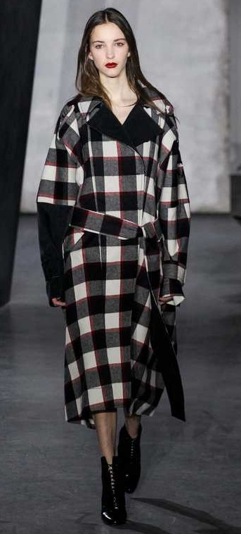 Пальто с принтами