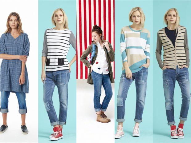Как носить джинсы
