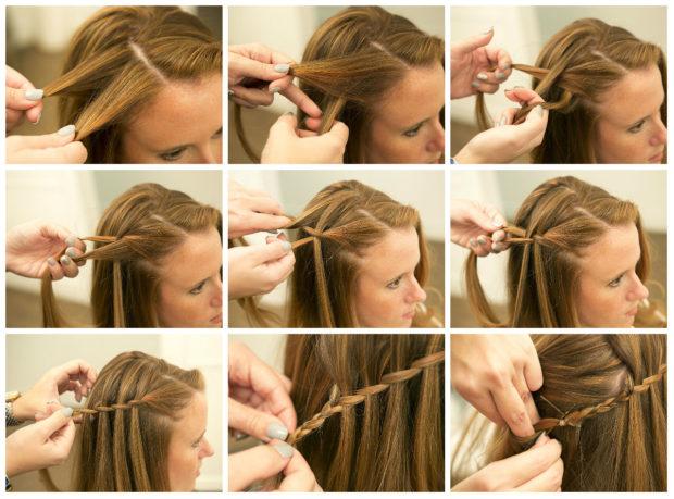 Как сделать прическу с плетением