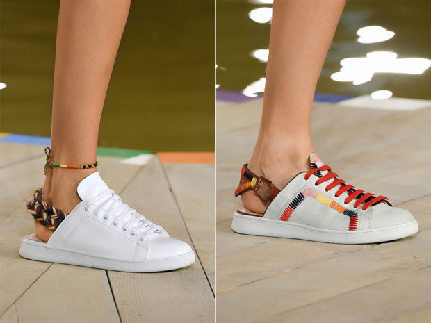 Обувь с отрезанной пяткой