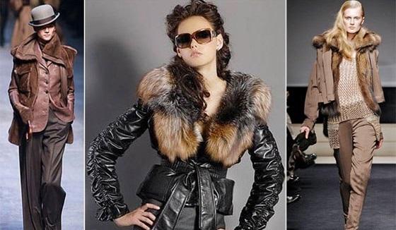 Куртки из смешанных тканей