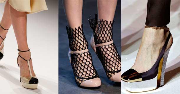 Обувь со шнуровкой