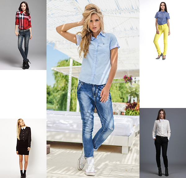 9ebf27e07530 Модные рубашки 2019 : женская мода + фото