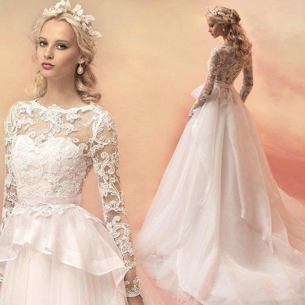 ff51bbb2711 Красивые свадебные платья   фото модных трендов