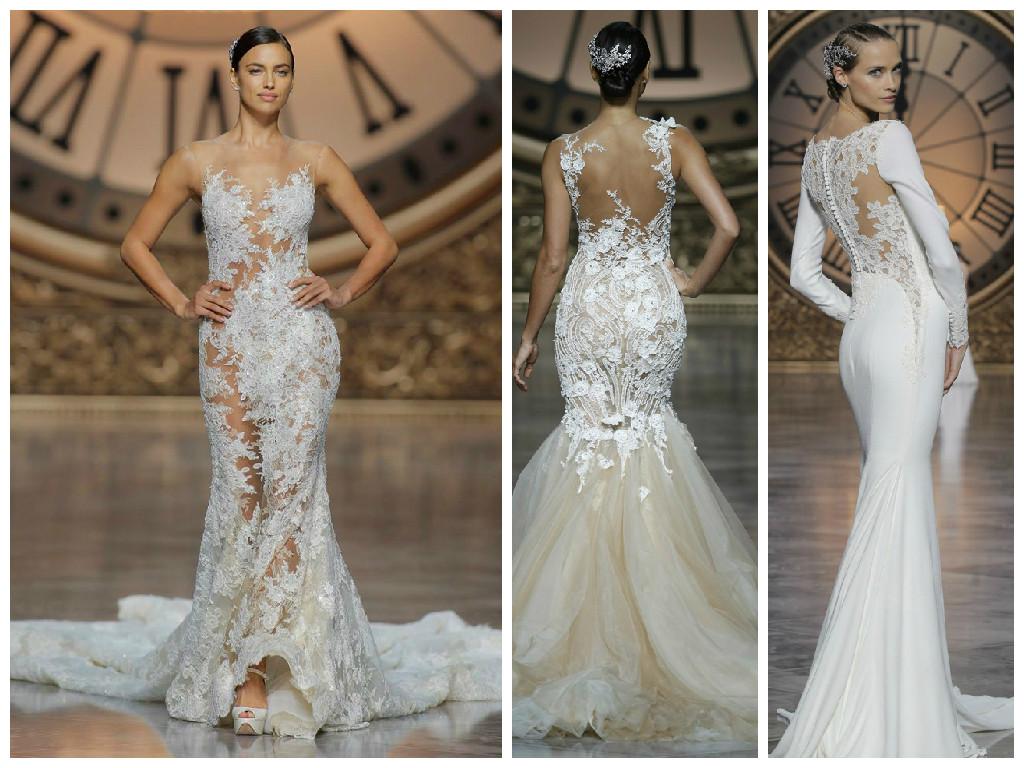 cfc917af9795be7 Красивые свадебные платья : фото модных трендов