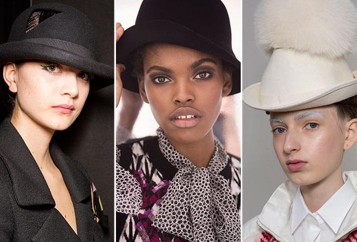 Зимние шляпы