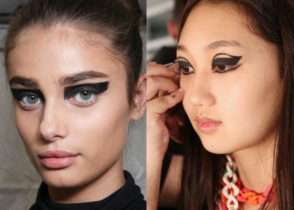 Графический макияж