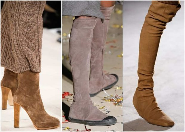 Модный материал обуви