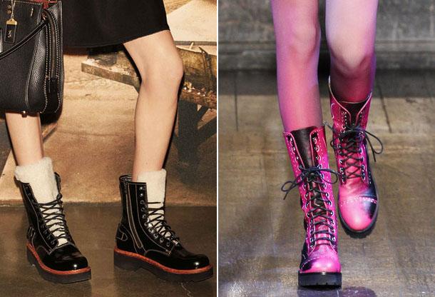 Стильная обувь со шнуровкой