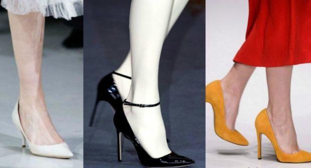 Лакированные туфли с ремешками