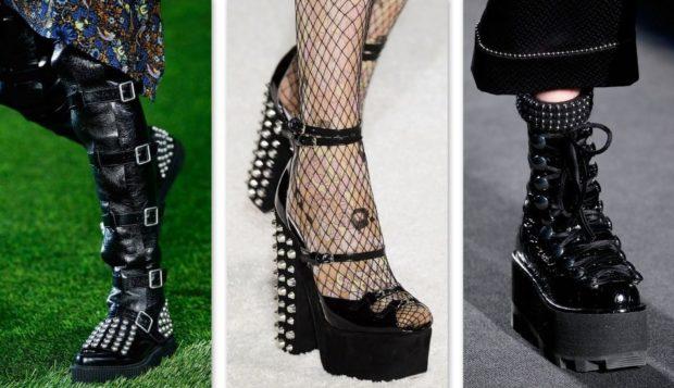 Обувь в готическом стиле