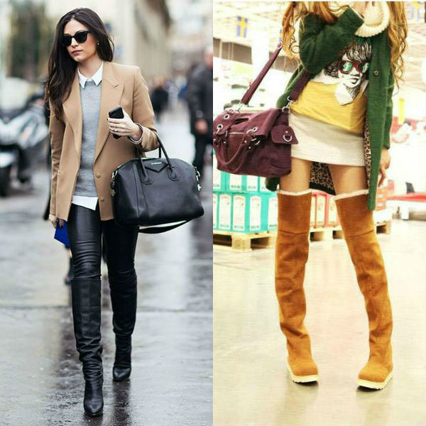 Модные ботфорды