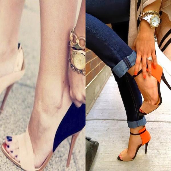 c58760cdc8c0 Основной привилегией женской обуви является высокий каблук. В наступившую  осень 2018 предлагается большое разнообразие каблуков, которые не оставят  ...